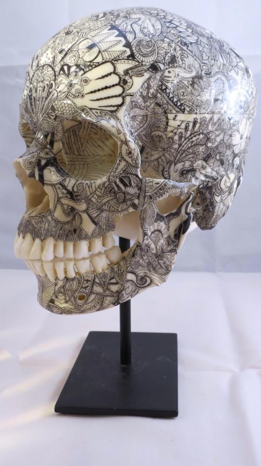 Татуированный череп