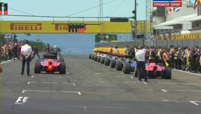 Формула-1. Гран-при Венгрии. Гонка. 10 этап (2015) SATRip
