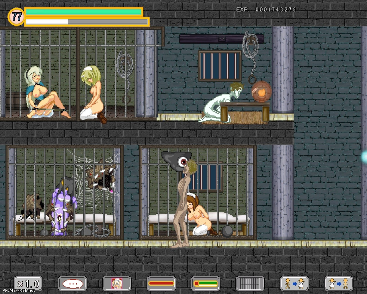 Satan woman 2 / Девушка сатана 2 [2014] [Cen] [Action, DOTs/Pixel] [JAP] H-Game