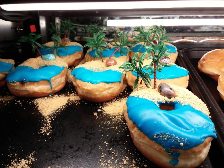 Тропические пончики