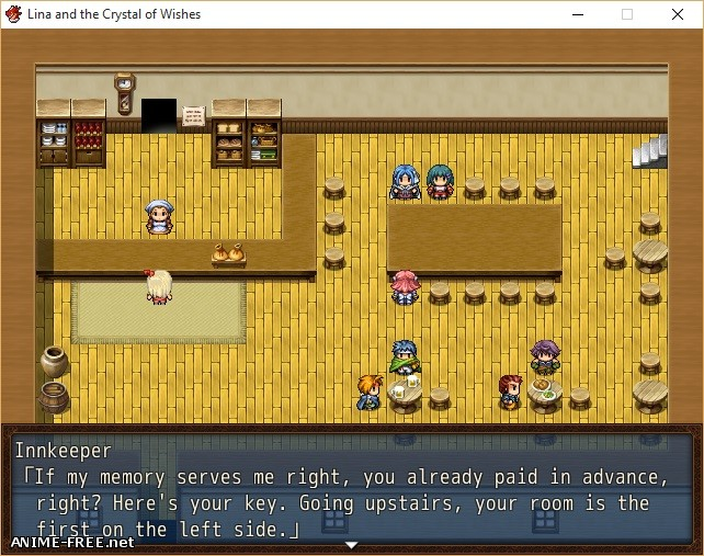 Lina and the Crystal of Wishes [2014] [Cen] [jRPG] [ENG,JAP] H-Game