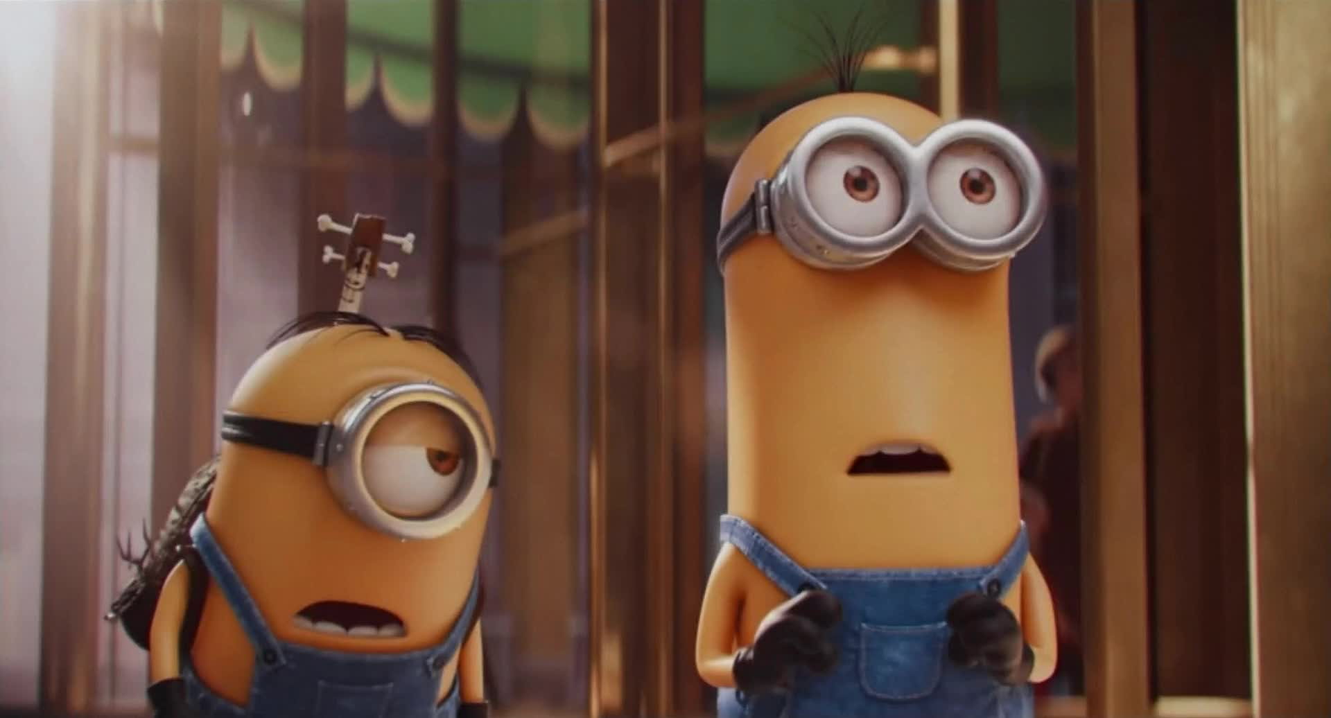 Minions / Миньоны [1080p] [2015 / HDTVRip] [Animation / Comedy / Family]