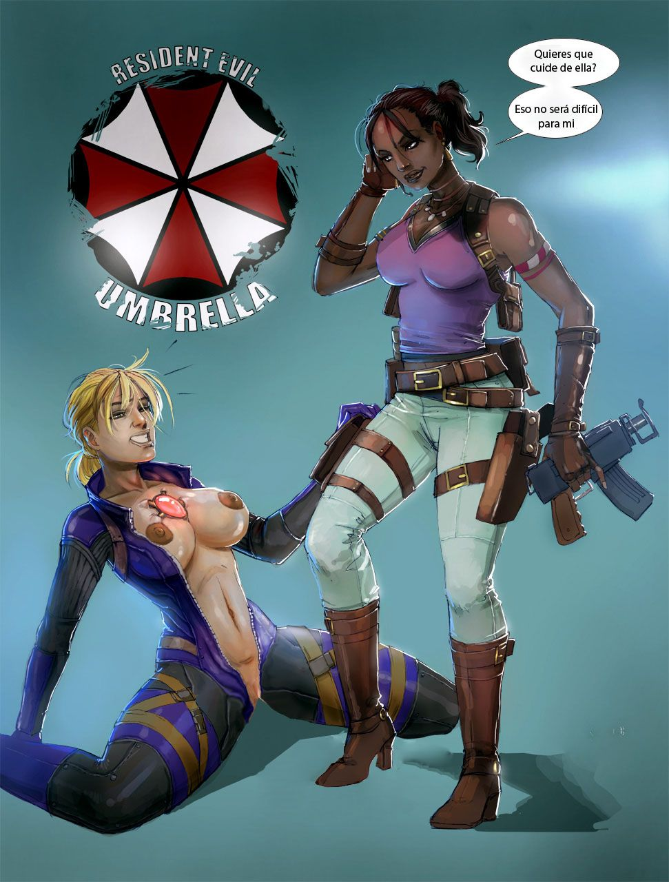 Resident evil shemale smut movies
