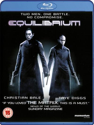 Эквилибриум / Equilibrium (2002) (BDRip 720p | Open Matte) 60 fps
