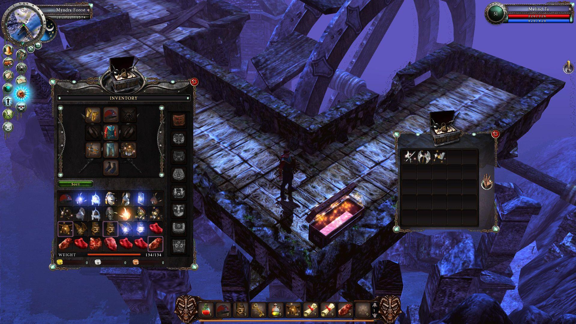 Третий скриншот Legends of Dawn