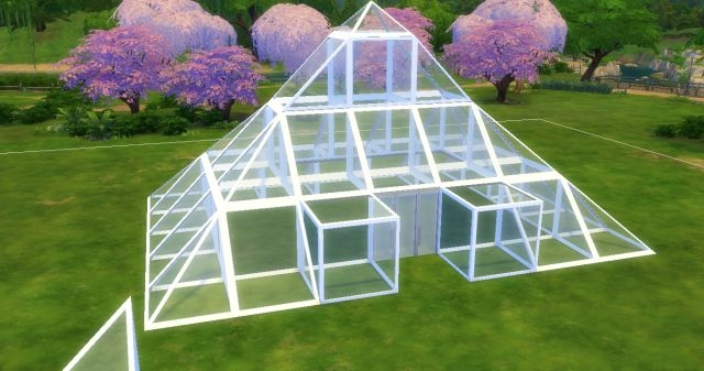 Как сделать крышу для дома в симс 4