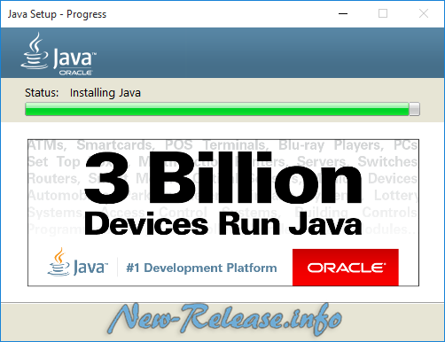 Java Runtime Environment 9.0 Build 146