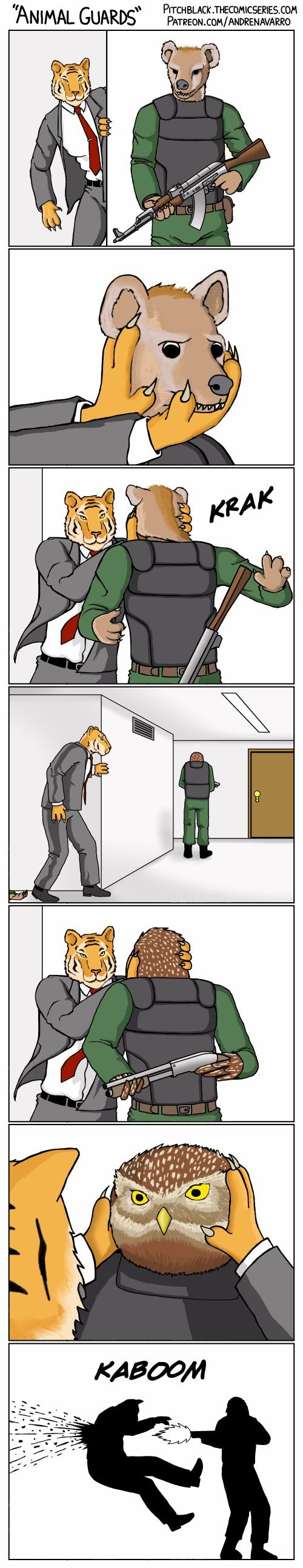 Животные-охранники
