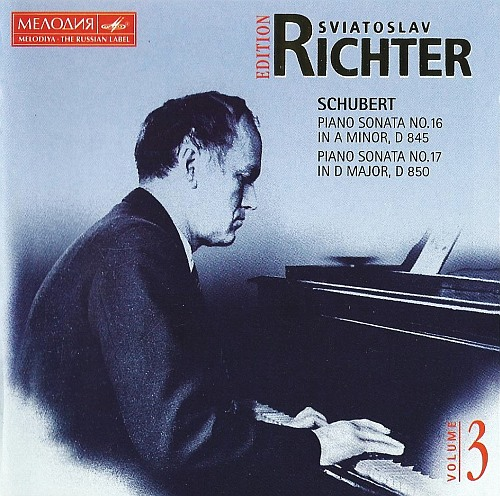 Schubert - Works for Piano - Sviatoslav Richter (Melodiya Edition Vol.3) (1997) [FLAC|image +.cue]<Classical, Chamber Music, Recitals, Romantic Period, Sonata>