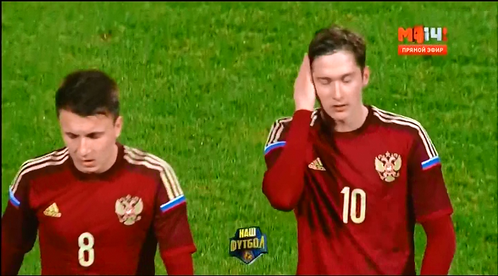 Чемпионат Европы 2017 (U-21) Отборочный турнир (Группа 7, 4-й тур) Россия - Фарерские острова (2015) SATRip
