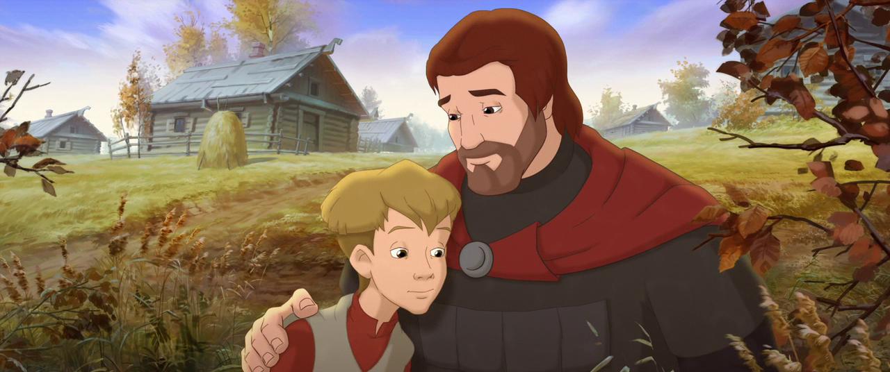 Крепость щитом и мечом мультфильм 2015