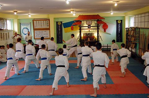 Учебно-аттестационный семинар по каратэ
