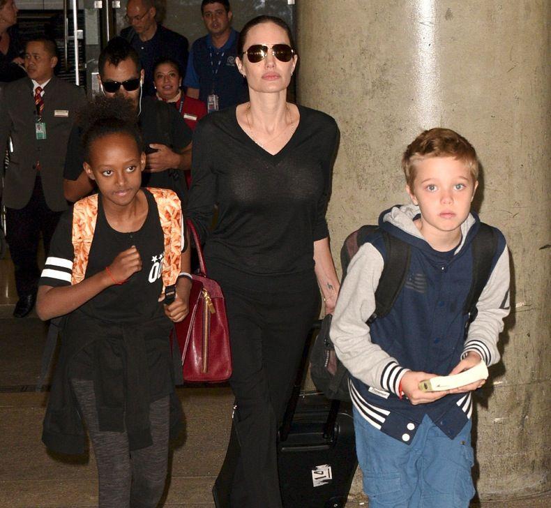 Angelina Jolie Has Three Biological Kids and Three Adopted
