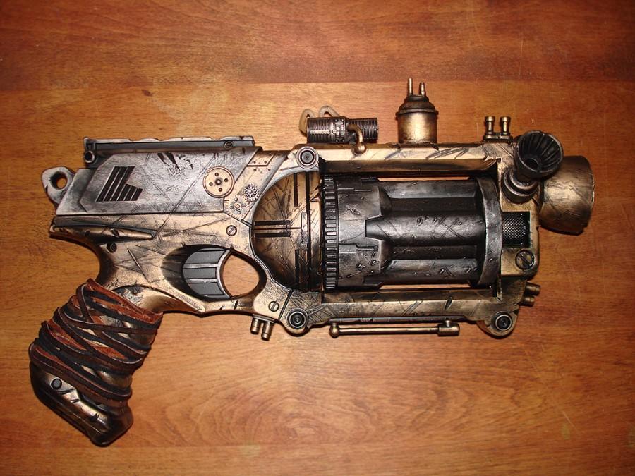 Стим-панк револьвер