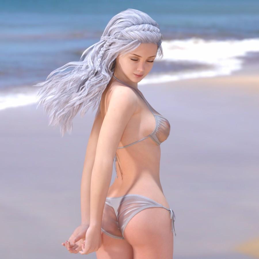Пляжный рендер