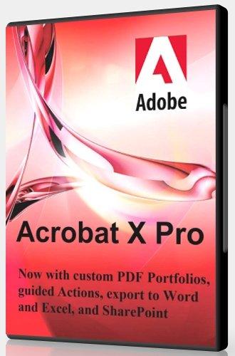 Adobe Acrobat X Pro 10.1.16 [Multi/Ru]