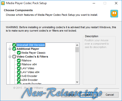 Media Player Codec Pack 4.4.3 Final