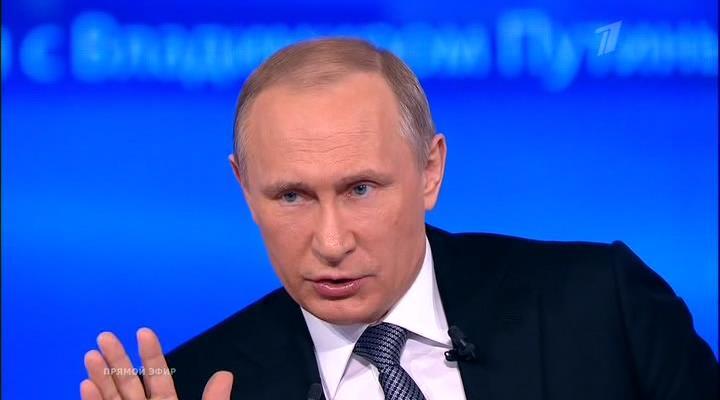Прямая линия с Владимиром Путиным (Эфир 14.04.2016) SATRip