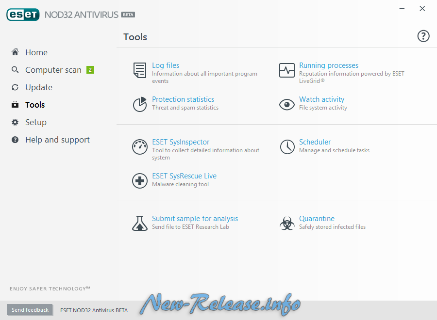 ESET NOD32 Antivirus 2017 10.0.169.0 Beta