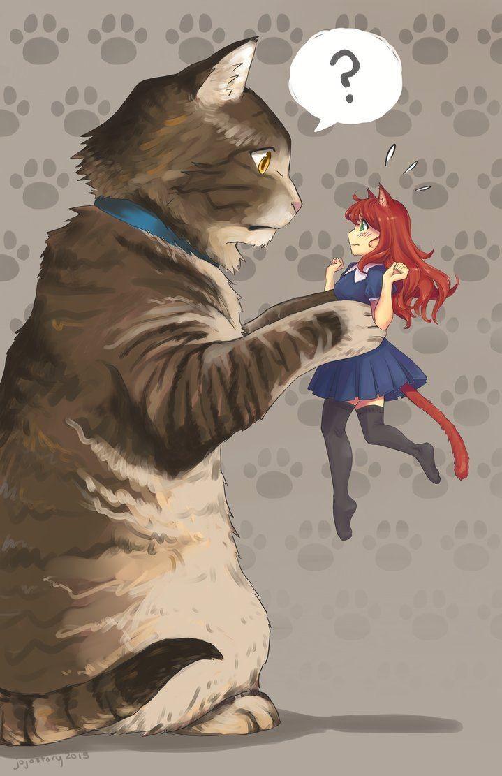 Гигантский котейка