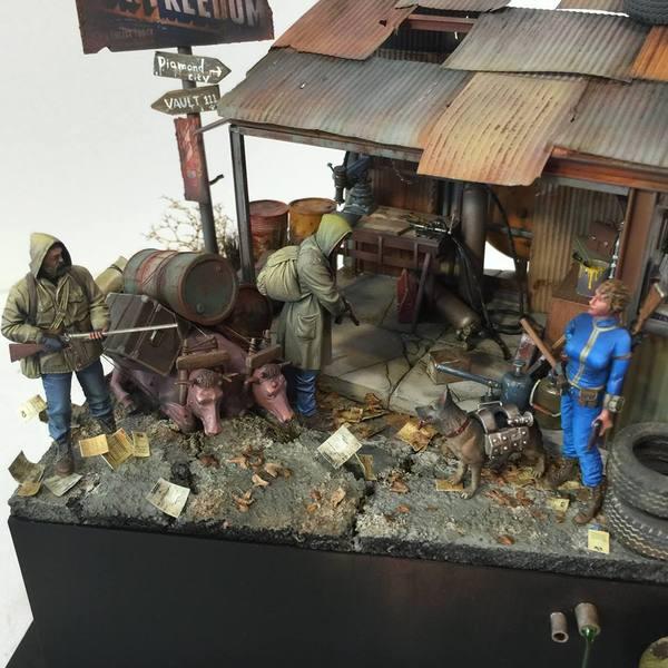 Диорама на тему Fallout 4 1