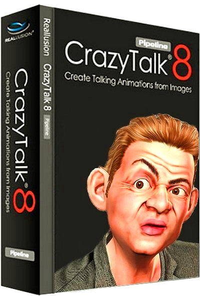 Reallusion CrazyTalk Pipeline 8.03.1620.1 + Resource Pack [Ru/En]