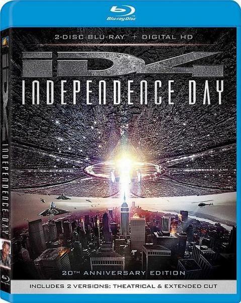 День независимости / IndependenceDay (Роланд Эммерих / Roland Emmerich) [1996, США, фантастика, боевик, BDRemux 1080p] [Remastered] 5x MVO (Карусель, CEE, НТВ+, Премьер Видео, Ren-TV) + 4x AVO + VO + Ukr + Original Eng + Comm + sub Rus, Eng торрент скачат