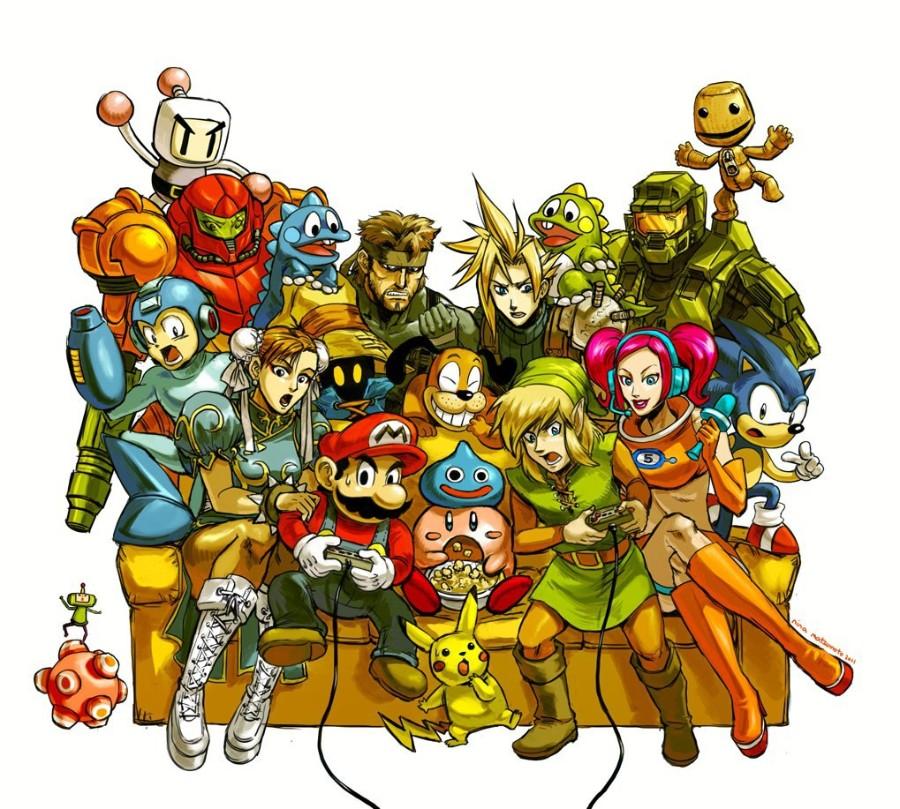 Герои игр Нинтендо
