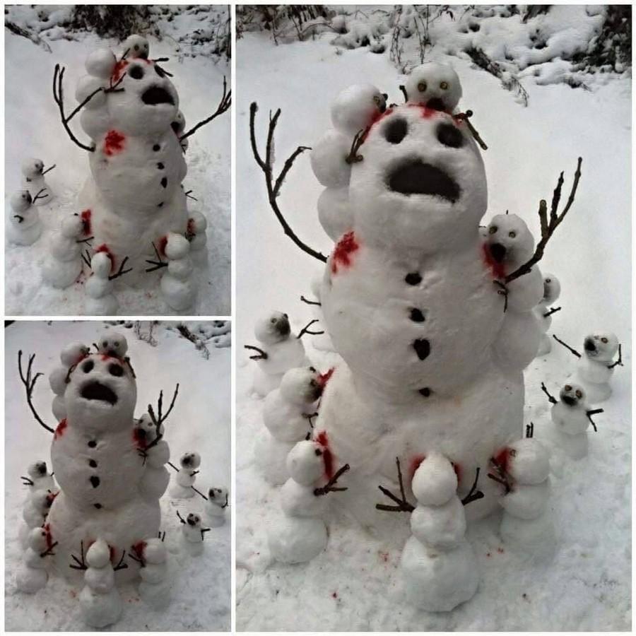 Снеговиковые зомбари
