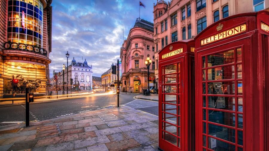 Лондонский пейзаж в HDR