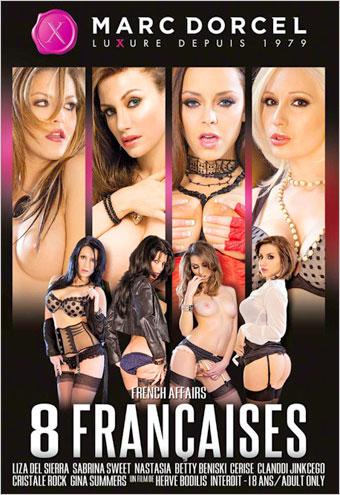 Marc Dorcel - 8 француженок / 8 Francaises / 8 Naughty Girls / French Affairs (2012) DVDRip