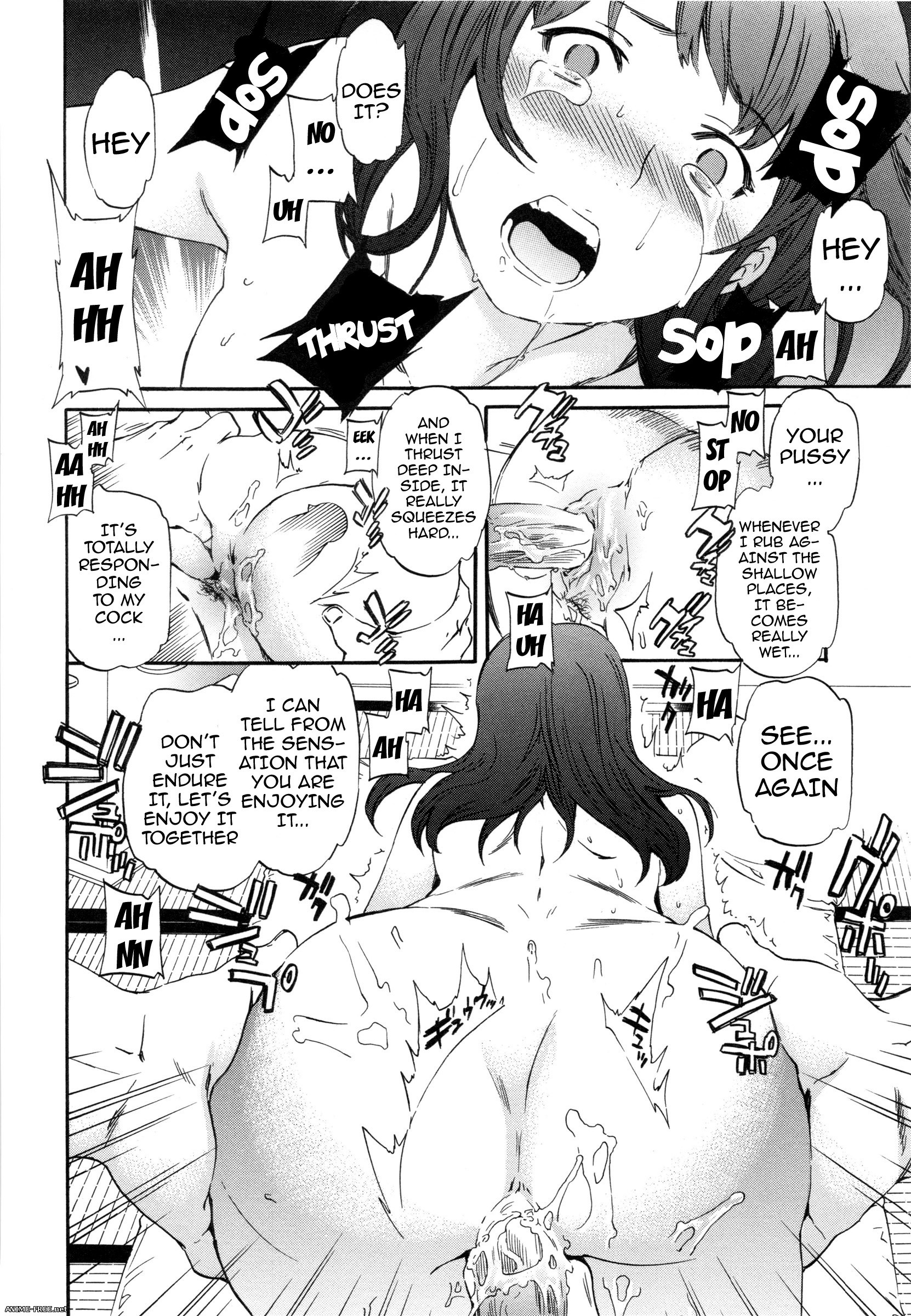 Cuvie / Shoot Outs / Disaster - ������� ������ ����� [Ptcen] [RUS,ENG,JAP] Manga Hentai