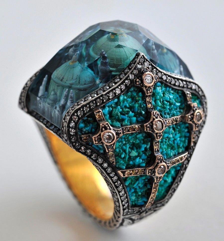 Перстень с храмом