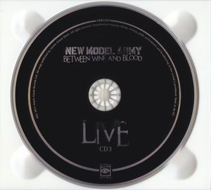 New Model Army - Between Wine And Blood Live [3CD] (2015)
