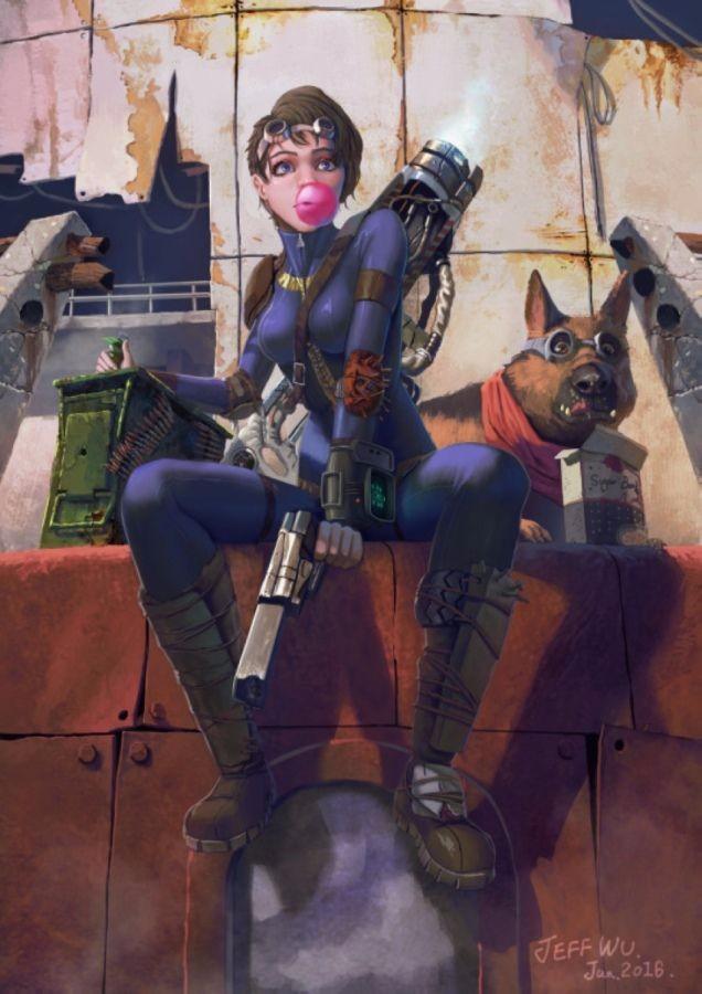 Фанарт по Fallout 4