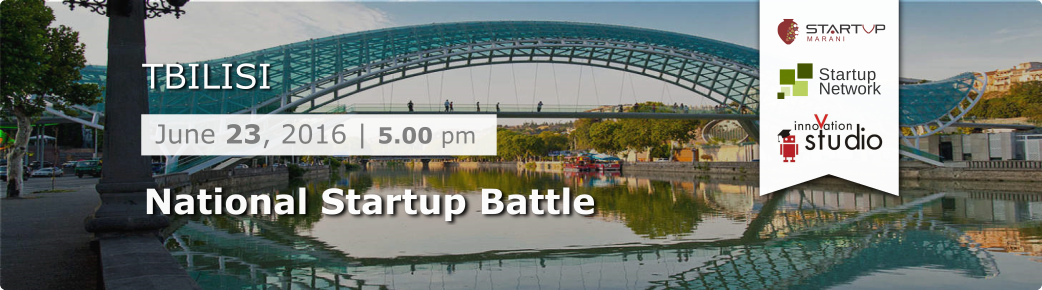 National Startup Battle, Tbilisi (Julia Smila)