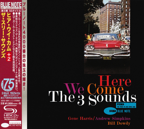 (Post-Bop) [CD] The Three Sounds - Here We Come (1960) - 2015 {Japan SHM-CD Blue Note 24-192 Remaster, UCCQ-5091}, FLAC (tracks+.cue), lossless
