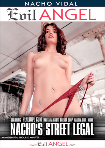 Постер:Evil Angel - Nacho's Street Legal (2015) WEBRip