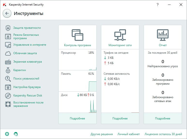 Kaspersky Internet Security 2017 17.0.0.611 Final (2016) Русский