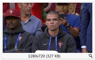 Футбол. Чемпионат Европы 2016. 1/2 финала. Португалия - Уэльс [Первый HD] [06.07] (2016) HDTVRip 720p | 25fps