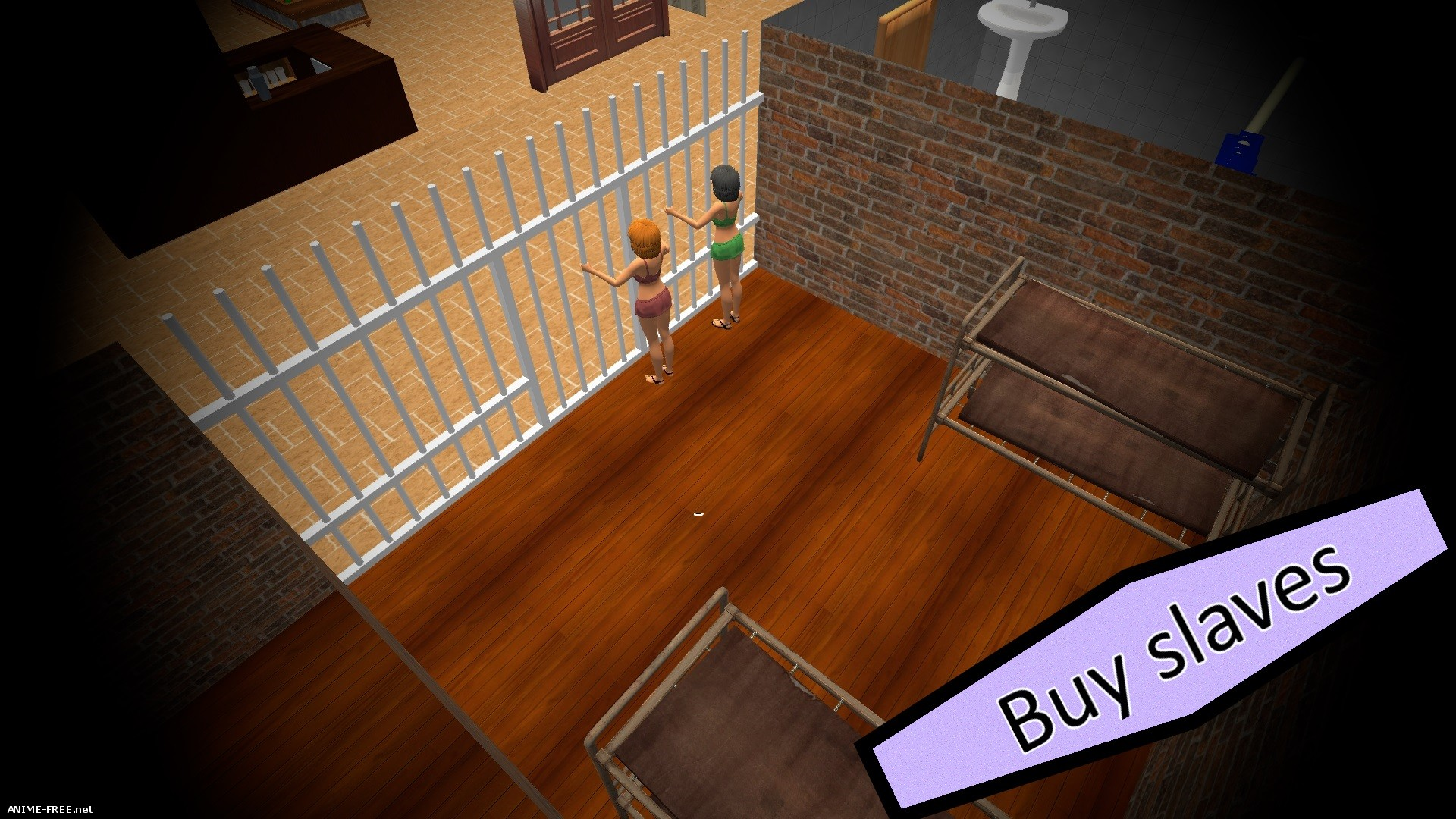 Slave Brothel 3D [2016] [Cen] [SLG, 3D, Management] [ENG] H-Game