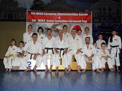 Чемпионат Европы по каратэ в Черкассах
