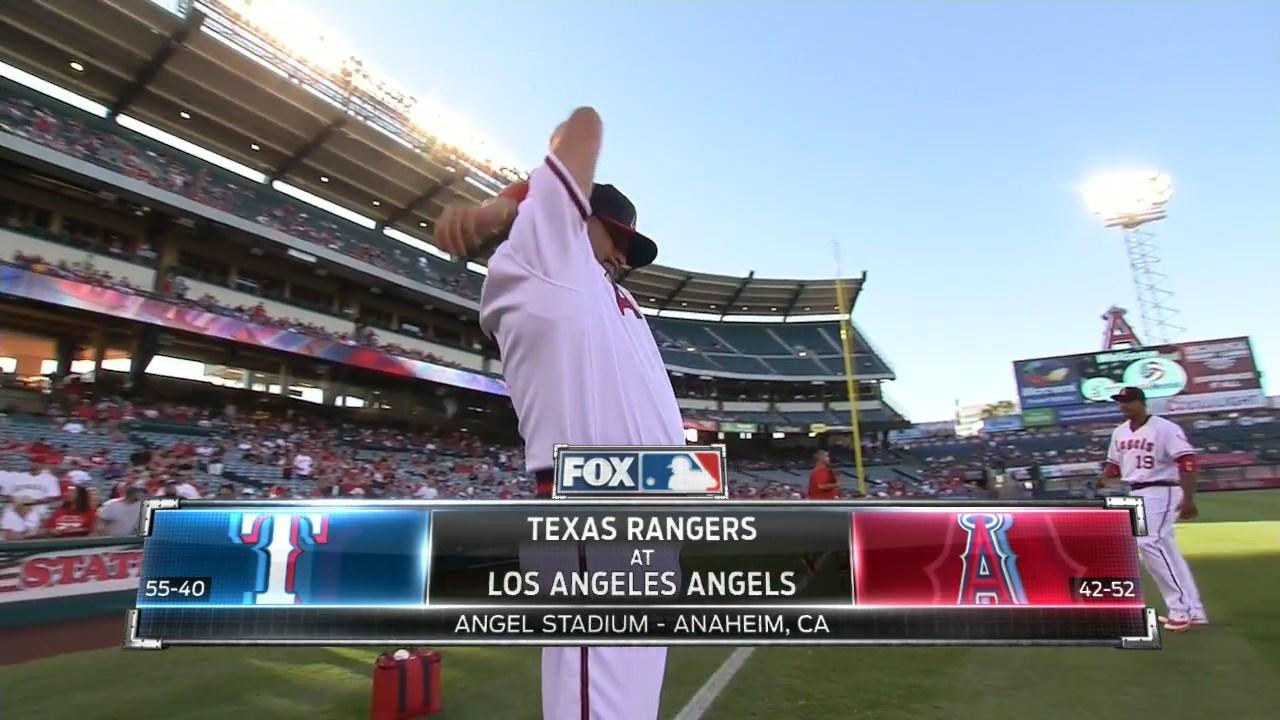 MLB 2016 / AL / RS / 20.07.2016 / Texas Rangers @ Los Angeles Angels (3 / 3) [Бейсбол, MLBTV-HD / 720p / 60fps, MKV / H.264, EN / FS West]