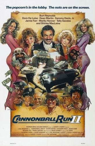 Гонки Пушечное Ядро - 2 / В погоне за миллионом / Cannonball Run II (Хэл Нидэм / Hal Needham) [1984, США, Гонконг, боевик, комедия, приключения,HDRip] MVO (РТР) + AVO (Горчаков) + Sub Eng + Original Eng