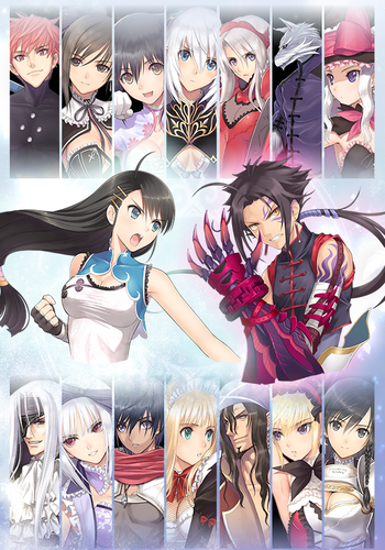 Blade Arcus from Shining: Battle Arena [L] [ENG / JAP] (2016) [Scene]