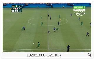 Футбол. XXXI Летние Олимпийские Игры 2016. Мужчины. Группа B. 1-й тур. Нигерия - Япония [Футбол 3 HD] [04.08] (2016) HDTV 1080i