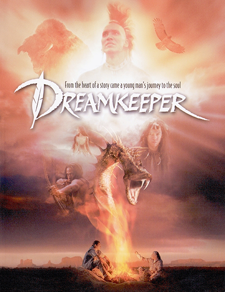Властелин легенд / DreamKeeper (2003) BDRip 720p | P