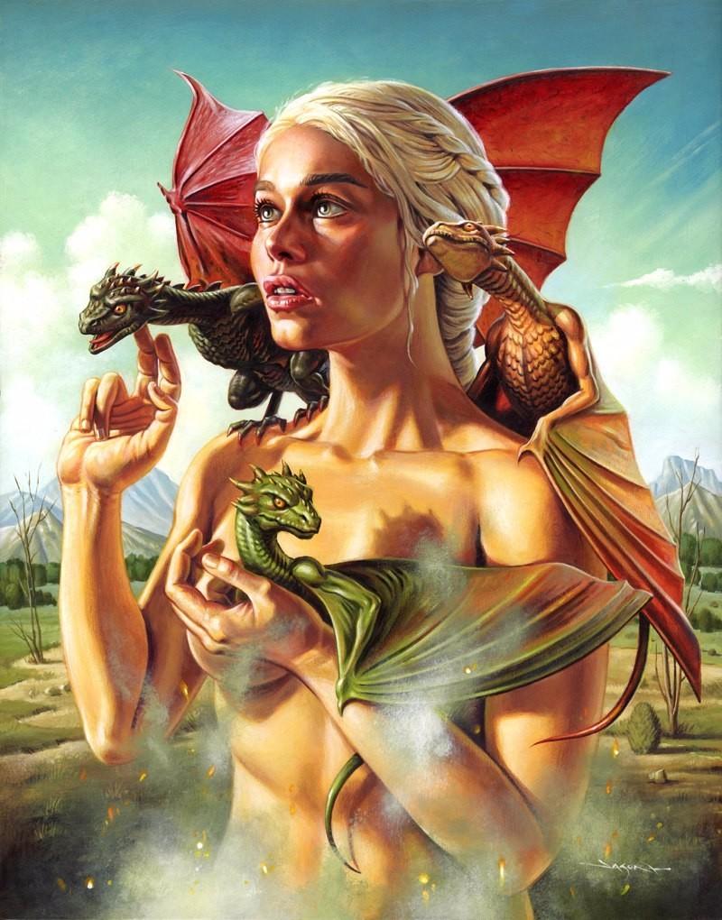 Матерь драконов