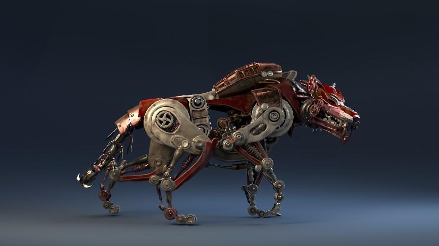 Механический волк