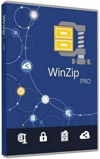WinZip Pro 21.0 Build 12288 Final RePack by D!akov (x86-x64) (2016) Rus/Eng